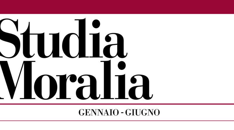 Studia Moralia 55/1, pubblicato il primo fascicolo 2017