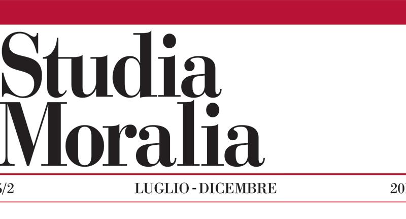 Studia Moralia 55/2, pubblicato il secondo fascicolo 2017