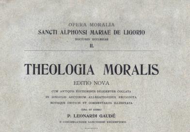 Tradotto in lingua inglese il 'trattato' sulla Coscienza di Alfonso M. de Liguori