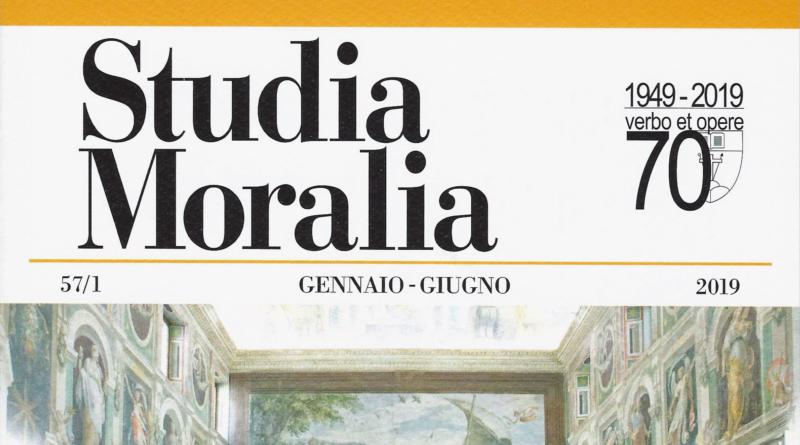 Studia Moralia 2019… l'editoriale. 70 anni al servizio della TM