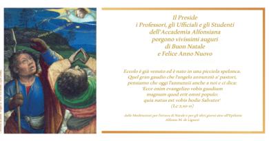Condivisione progettuale, teologica e solidarietà in occasione del Natale
